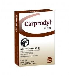 Carprodyl 75mg - Anti-inflamatório - 14 Comprimidos