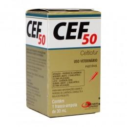 Cef 50 Ceftiofur Injetável 30ml