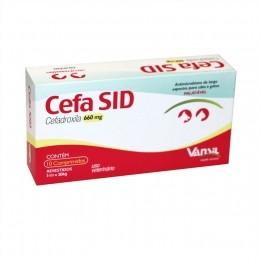 Cefa Sid 660mg Antimicrobiano Vansil 10 Comprimidos