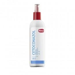 Cetoconazol Spray 2% 200 ml Ibasa Para Cães e Gatos