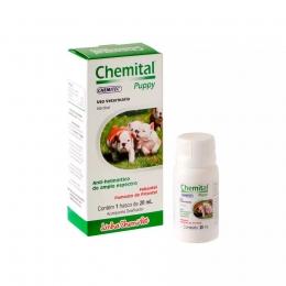 Chemital Puppy Vermífugo Para Cães Filhotes 20ml