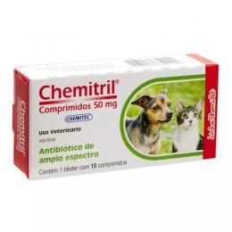 Antibiótico Chemitril Chemitec 50mg 10 Comprimidos
