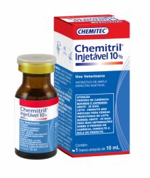 Chemitril Injetável 10% Chemitec 10ml