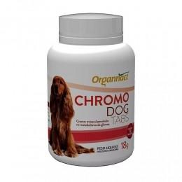 Chromo Dog Tabs 18g Organnact Para Cães
