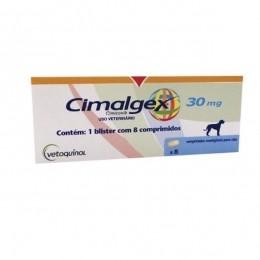 Cimalgex 30mg 8 Comprimidos Vetoquinol Para Cães