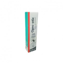 Cipro otic 15 G Pomada Anti inflamatória Para Cães 1 Tubo
