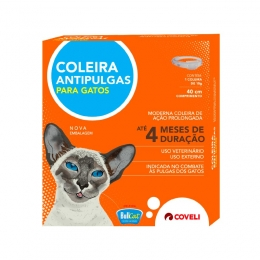 Coleira Antipulgas Bullcat Para Gatos Coveli 15g