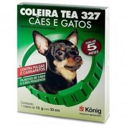 Coleira Tea 327 Cães e Gatos Filhotes de Cães e Cães Pequenos 13g