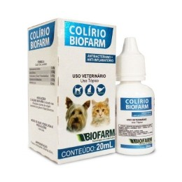 Colírio 20ml Biofarm Para Cães e Gatos