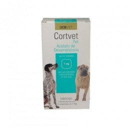 Cortvet Anti-inflamatório 1mg Para Cães 10 Comprimidos