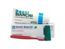 Creme Dental Denti Bianchi Cães e Gatos Ecovet 65g