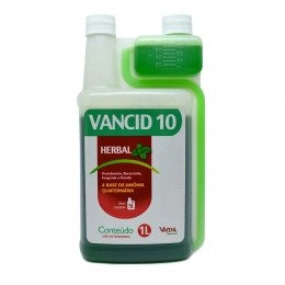 Desinfetante Vancid 10 Herbal - Vansil 1 Litro