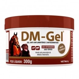 Dm Gel Anti-Inflamatório Gel Analgésico Vetnil 300g