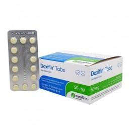 Doxifin Tabs 50mg Antimicrobiano Ourofino 14 Comprimidos