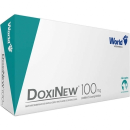 Doxinew 100mg 14 Comprimidos World Veterinária