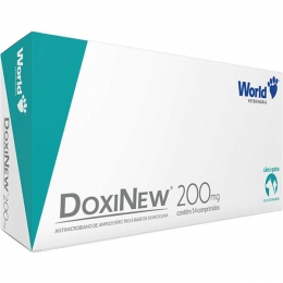 Doxinew 200mg 14 Comprimidos World Veterinária
