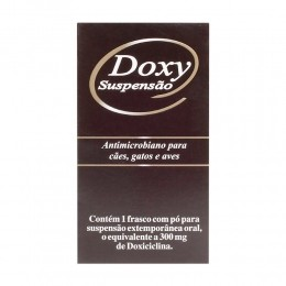 Doxy Suspensão Cepav Antimicrobiano Para Cães e Gatos