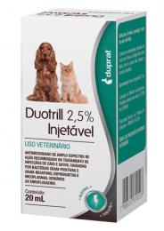 Duotrill 2,5% Injetável Duprat 20ml