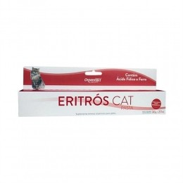 Eritrós Cat Pasta 30g/27ml Organnact Para Gatos