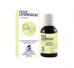 Fator Litovesical Homeopático Arenales 26g