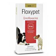 Floxypet Enrofloxacina 50mg 10 Comp Para Cães