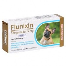 Flunixin 5mg Anti-Inflamatório 10 Comprimidos