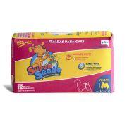 Fraldas Para Cães Super Secão Fêmeas M 12 Unidades
