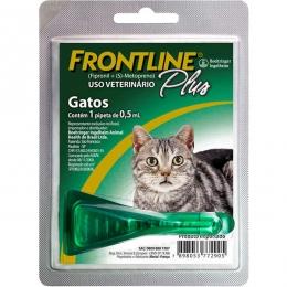 Frontline Plus Antipulgas e Carrapatos Para Gatos