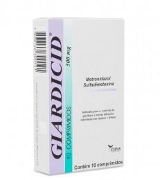 Giardicid 500mg 10 Comprimidos Cepav - Multi-tec