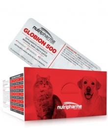 Globion 500 Suplemento Cães e Gatos 10 Blisters C/ 10 Comprimidos