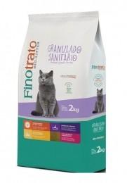 Granulado Sanitário Fino Trato Ultra Premium Para Gatos 2kg