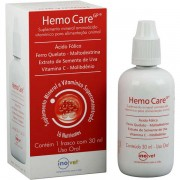 Hemo Care Gp Suplemento Mineral 15ml Inovet