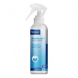 Humilac Spray Virbac Solução Hidratante Cães e Gatos 250ml