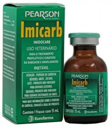 Imicarb Injetável 15ml Pearson