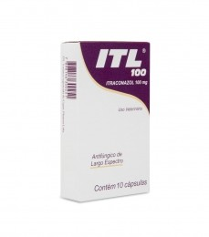 Itl 100 Itraconazol 100mg 10 Comprimidos