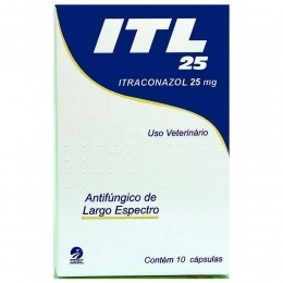 Itl 25 Itraconazol 25mg 10 Cápsulas Cepav