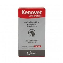 Kenovet Cetoprofeno Anti-Inflamatório Syntec 20ml