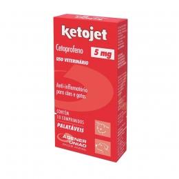 Ketojet 5mg Anti-Inflamatório 10 Comprimidos