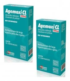 Kit 2 Agemoxi Cl 250mg 10 Comprimidos Agener União