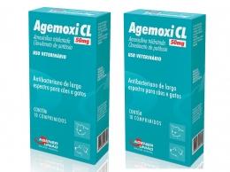 Kit 2 Agemoxi Cl 50mg 10 Comprimidos Agener União
