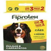 Antipulgas Fiprolex Cão Acima 40kg Ceva Leve 3 Pague 2