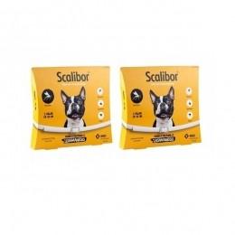 Kit 2 Coleira Scalibor Antiparasitas Para Cães Pequeno e Médio