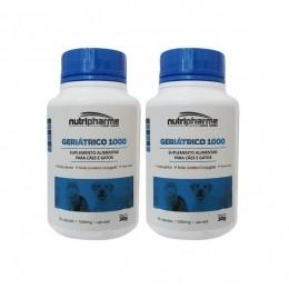 Kit 2 Geriátrico 1000 30 Cápsulas Suplemento Vitamínico