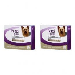 Kit 2 Petzi Plus Vermífugo 4 Comprimidos Cães 5 Kg