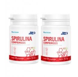 Kit 2 Spirulina Nutrisana Suplemento 30Comprimidos 31,2g