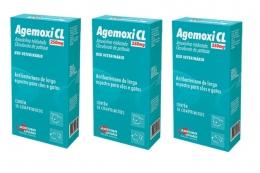 Kit 3 Agemoxi Cl 250mg 10 Comprimidos Agener União