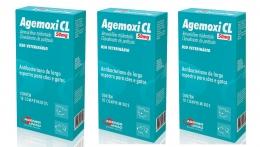 Kit 3 Agemoxi Cl 50mg 10 Comprimidos Agener União