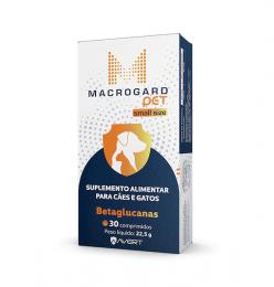 Macrogard Pet Small Size Suplemento Alimentar 30 Comprimidos 22,5g
