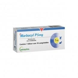 Marbocyl P 5mg Antibiótico Vetoquinol 10 comprimidos