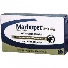 Marbopet 82,5mg Antibiotico Para Cães 10Comp.